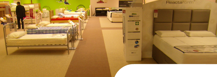 Endurance Carpet Tile in a home furnishing store