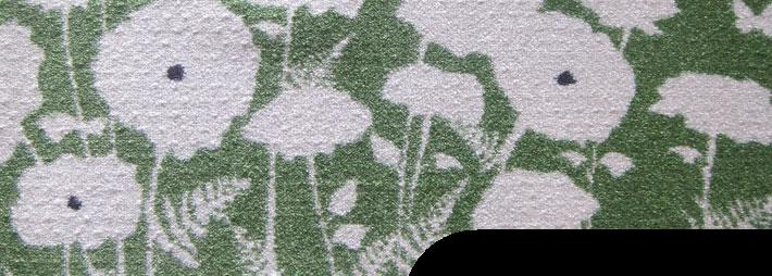 jet dye printed nylon mat