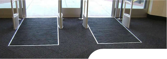 Premier Grid in a retail entrance way