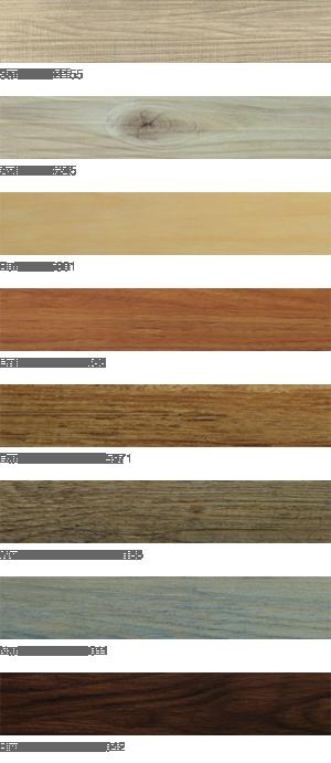 6 x 36 Luxury Vinyl Planks styles include sand, ash, buff, driftwood, dark chestnut, weathered barn, nantucket, black walnut
